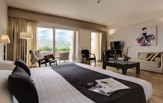 Italien - Sardinien - Baja Sardinia - L'Ea Bianca Luxury Resort - Junior Suite im Hotel-Resort am Meer Sardinien