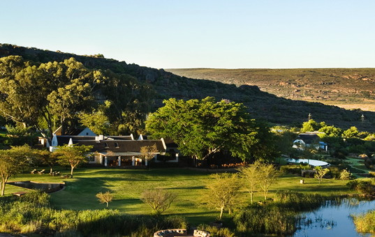 Afrika - Südafrika  - Kapregion - Clanwilliam - Bushmans Kloof Wilderness Lodge - Luxuslodge Suedafrika