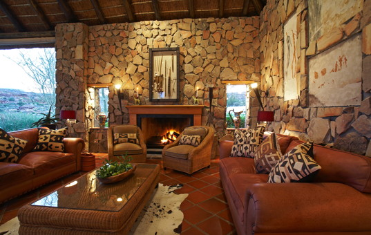Afrika - Südafrika - Kapregion - Clanwilliam - Bushmans Kloof Wilderness Lodge - luxuriöse Lodge Wildreservat Western Cape