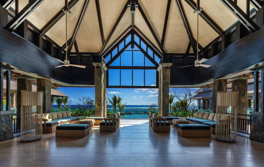 Indischer Ozean - Mauritius - Balaclava, Turtle Bay - The Westin Turtle Bay Resort & Spa - Westin Lobby