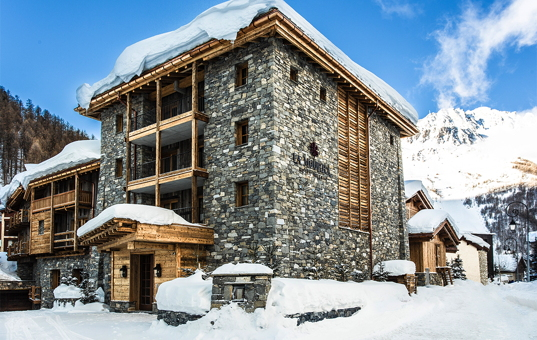 Frankreich - Alpen  - Val d'Isère - Chalet Ebène - Almdorf in Val d'Isere mit privaten Chalets